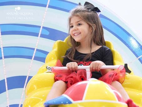 Fotógrafo de Festa Infantil: Laura - 4 anos