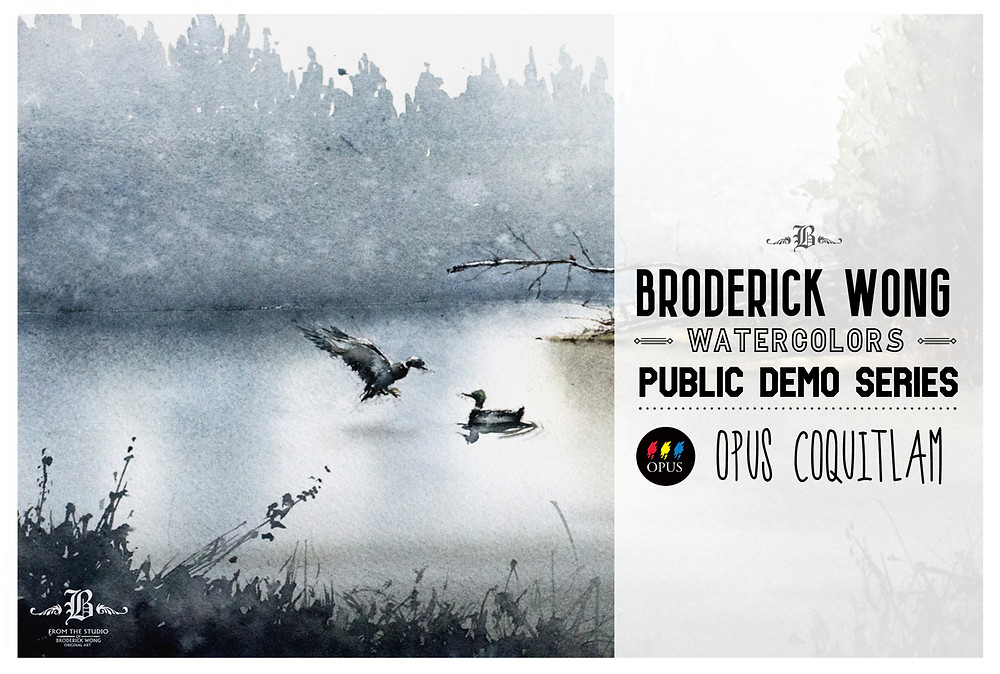 Broderick-Wong-Watercolors-Opus-Coquitlam-Demo