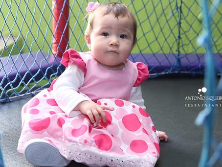Fotógrafo de Festa Infantil: Larissa - 1 ano