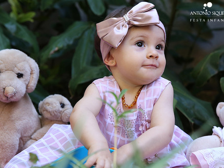 Fotógrafo de Festa Infantil: Mariah - 1 ano