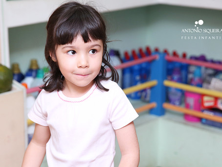 Fotógrafo de Festa Infantil: Luisa - 5 anos