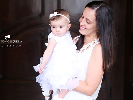 Fotógrafo de Batizado: Maria Fernanda