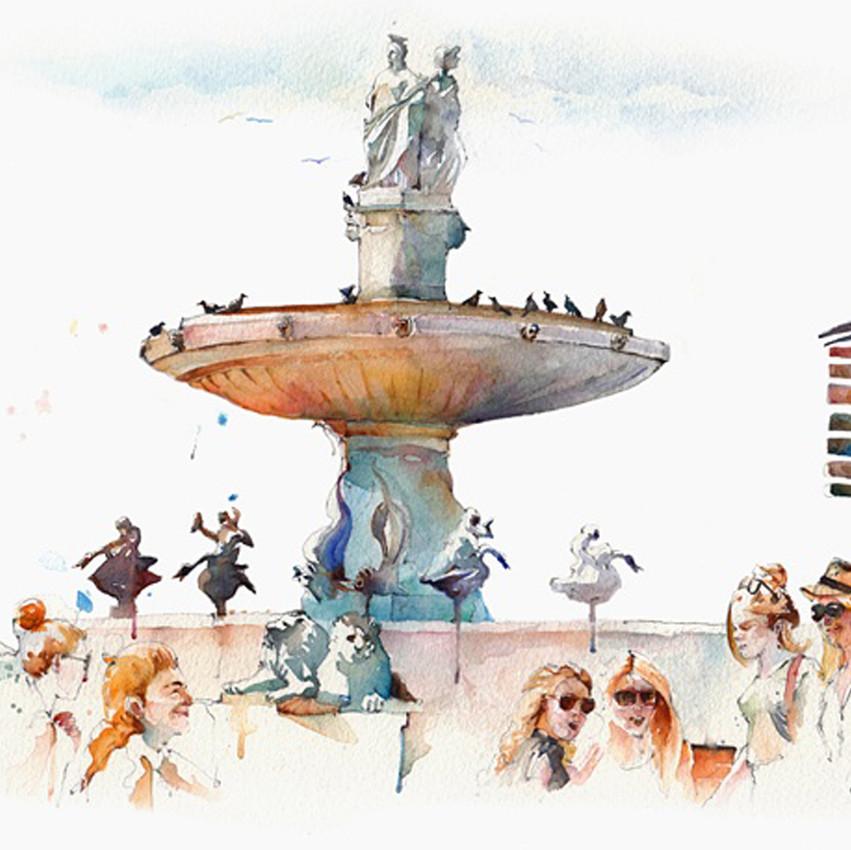Broderick-Wong-Watercolors-Charles-Reid-Provence-2016-1