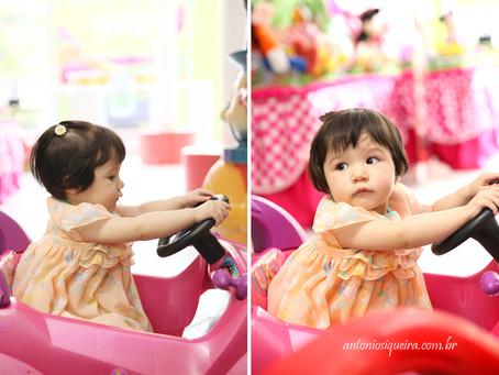 Fotógrafo de Festa Infantil: Luisa - 1 ano