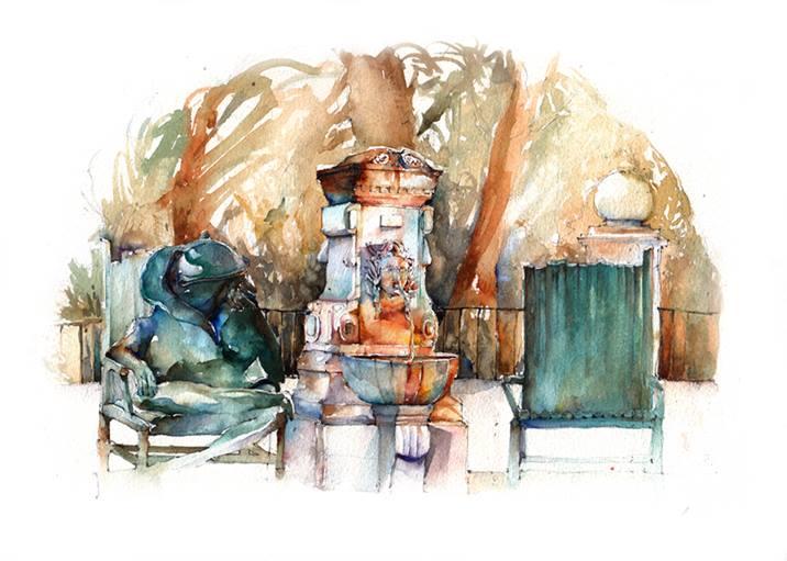 Broderick-Wong-Watercolors-Charles-Reid-Provence-2016-2