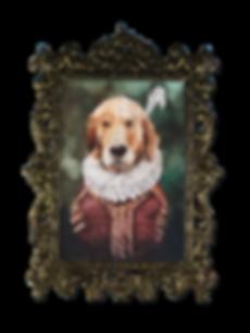Golden Retriever Pet Potrait