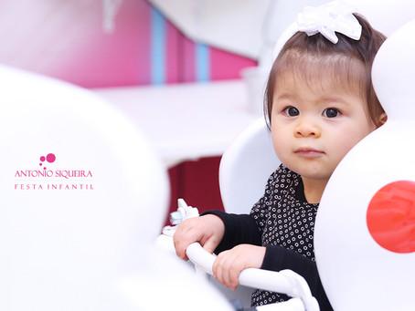 Fotógrafo de Festa Infantil: Aya - 1 ano
