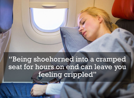 3 Simple Tips for Flying With Back Pain