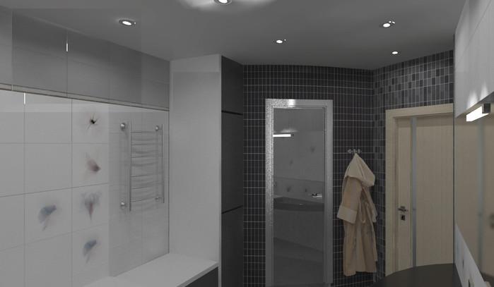 Ванная комната. Визуализация.