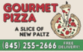Gourmet Pizza Business Card