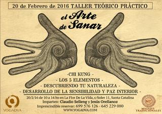 20/2: TALLER EL ARTE DE SANAR