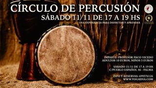 11/11/17 CIRCULO DE PERCUSION