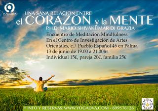13/06: ENCUENTRO DE MEDITACION MINDFULNESS con Mario Di Grazia