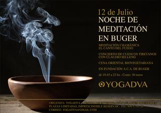 NOCHE DE MEDITACIÓN 12 DE JULIO