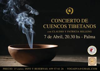 CONCIERTO DE CUENCOS TIBETANOS