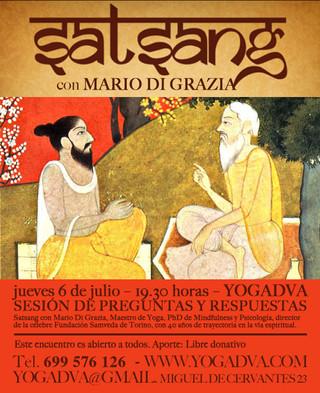 06/06/17 SATSANG preguntas y respuestas con Mario Di Grazia
