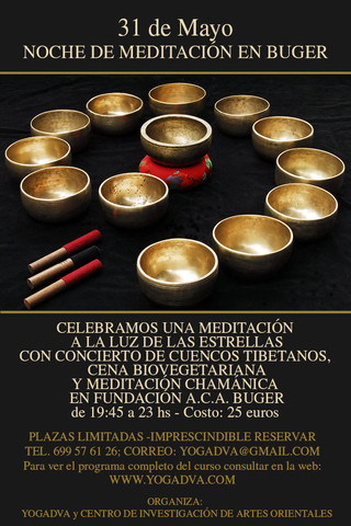 NOCHE DE MEDITACION EN MALLORCA