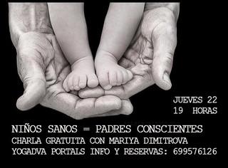 CHARLA GRATUITA: Hijos Sanos, Padres Conscientes