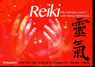 FEBRUARY 9TH, REIKI FIRST LEVEL