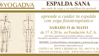 ESPALDA SANA: una tarde de yoga y consciencia postural