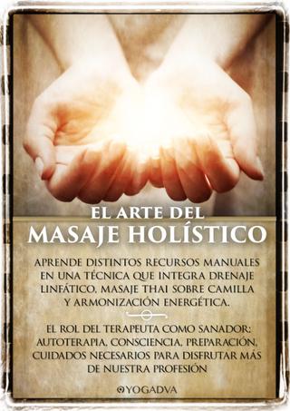 30/31 MAYO CURSO DE MASAJE HOLÍSTICO