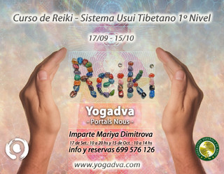 17 septiembre CURSO DE REIKI Nivel 1