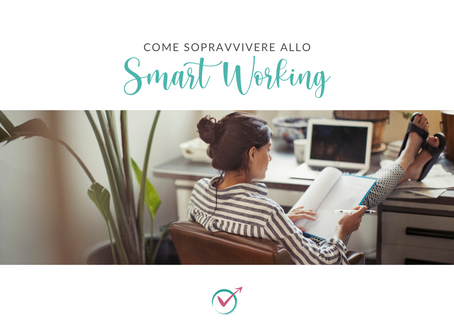 Come sopravvivere allo smart working