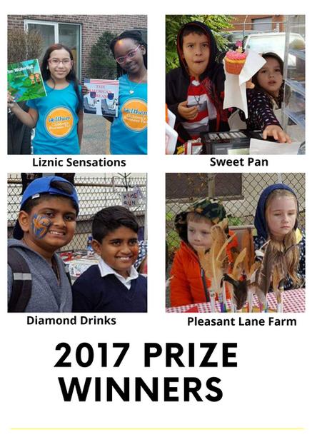 2017 WalthamCBF Prize winners