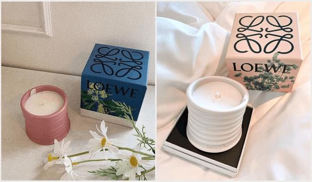 情人節禮物推薦4 -LOEWE香味蠟燭