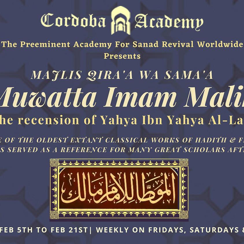 Muwatta Imam Malik [UK] - Feb 2021