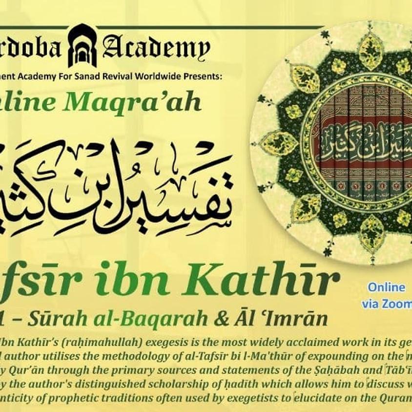 RC1: Tafsīr Ibn Kathir