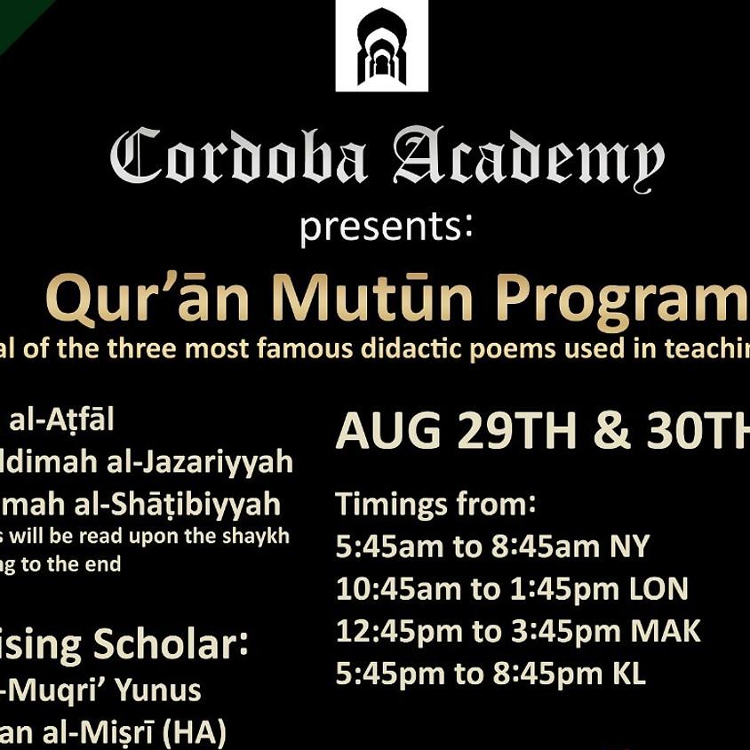 RC Maqra' : Quran Mutun Program Online