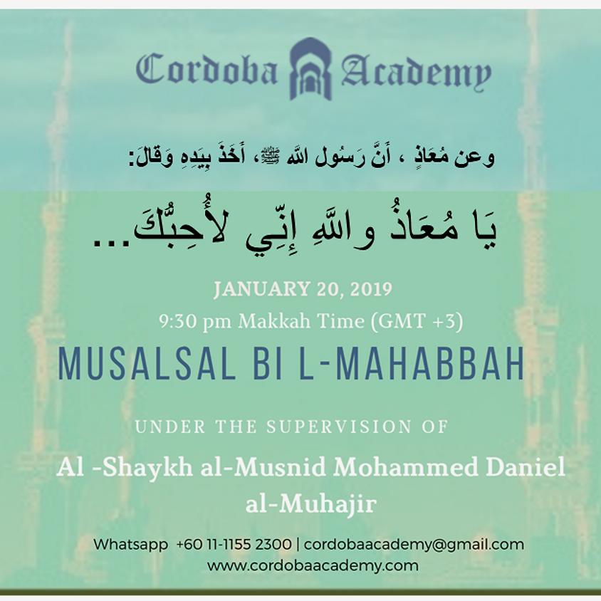 Musalsal bi l-Muhabbah المسلسل بالمحبة