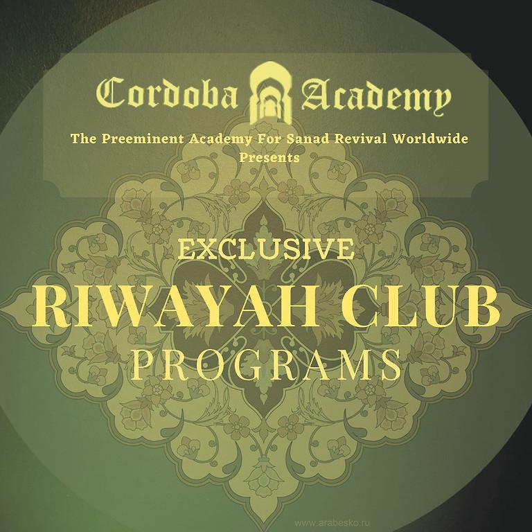 Riwayah Club Exclusive Programs