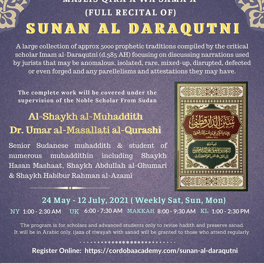 Maqra' Of Sunan Al Daraqutni