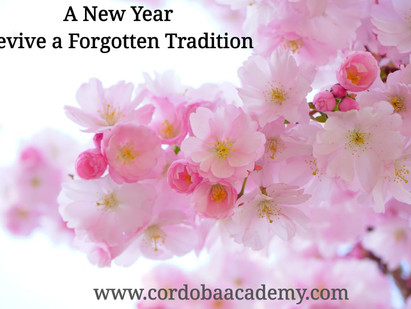 A New Year: Revive a Forgotten Tradition💐