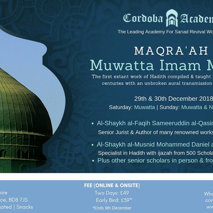 Maqra'ah Muwatta Imam Malik(ra)