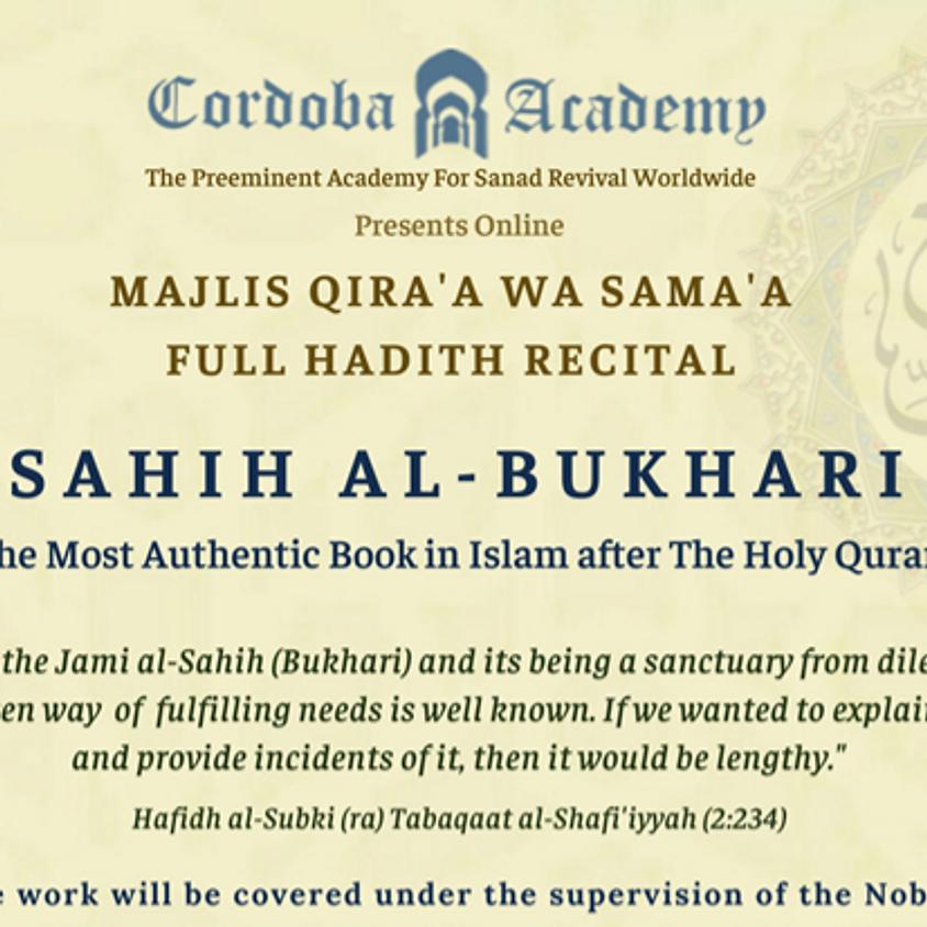 MAQRA' OF SAHIH AL-BUKHARI