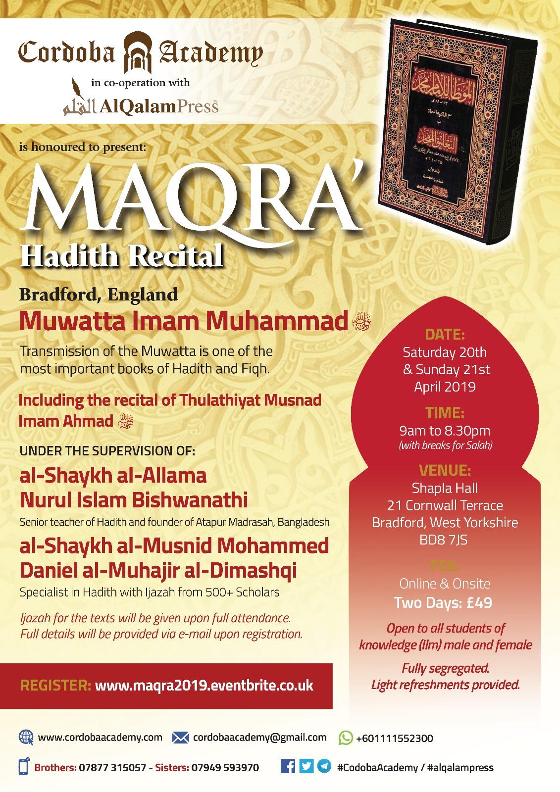 Dating i islam Hadith