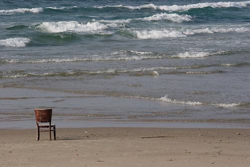 Chair and Sea / כסא וים