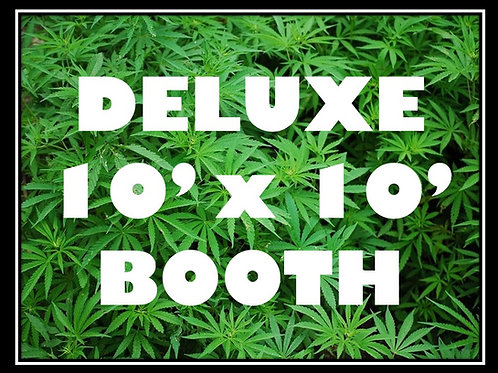 Deluxe 10' by 10' Booth