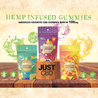 Just CBD hemp Infused Gummies