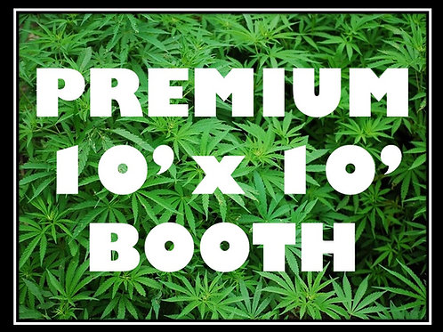 Premium 10' by 10' Booth