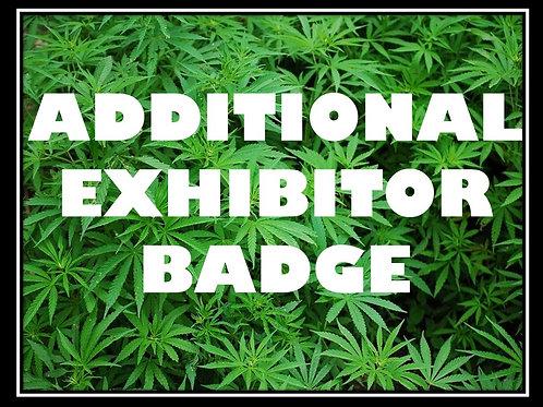 Additional Exhibitor Badge