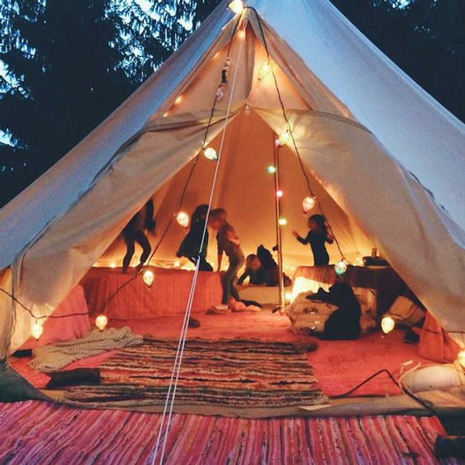 Magical Tipi Retreat Mom + Kid