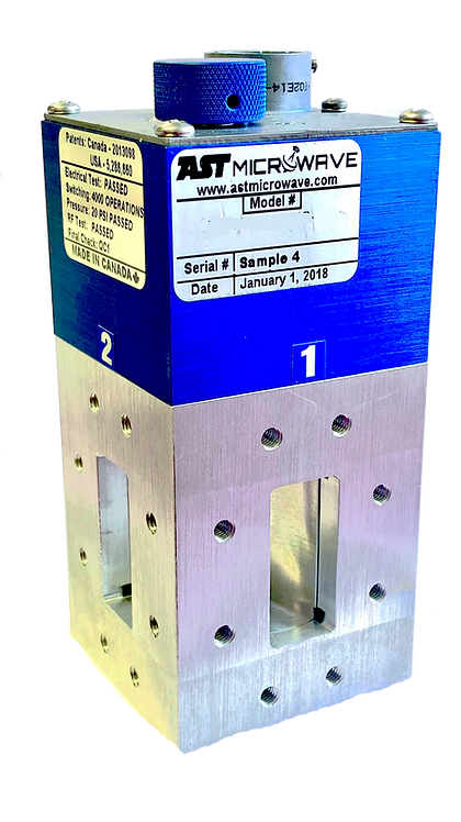 WR137 Waveguide Switch