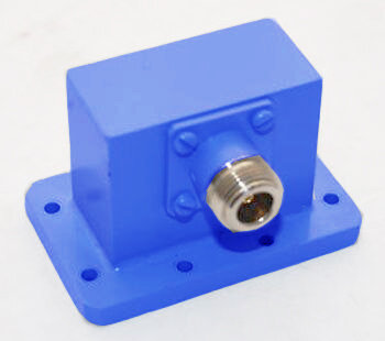 WR137 Waveguide to Coax Adapter