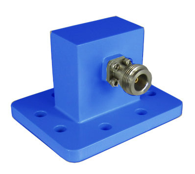 WR159 Waveguide to Coax Adapter