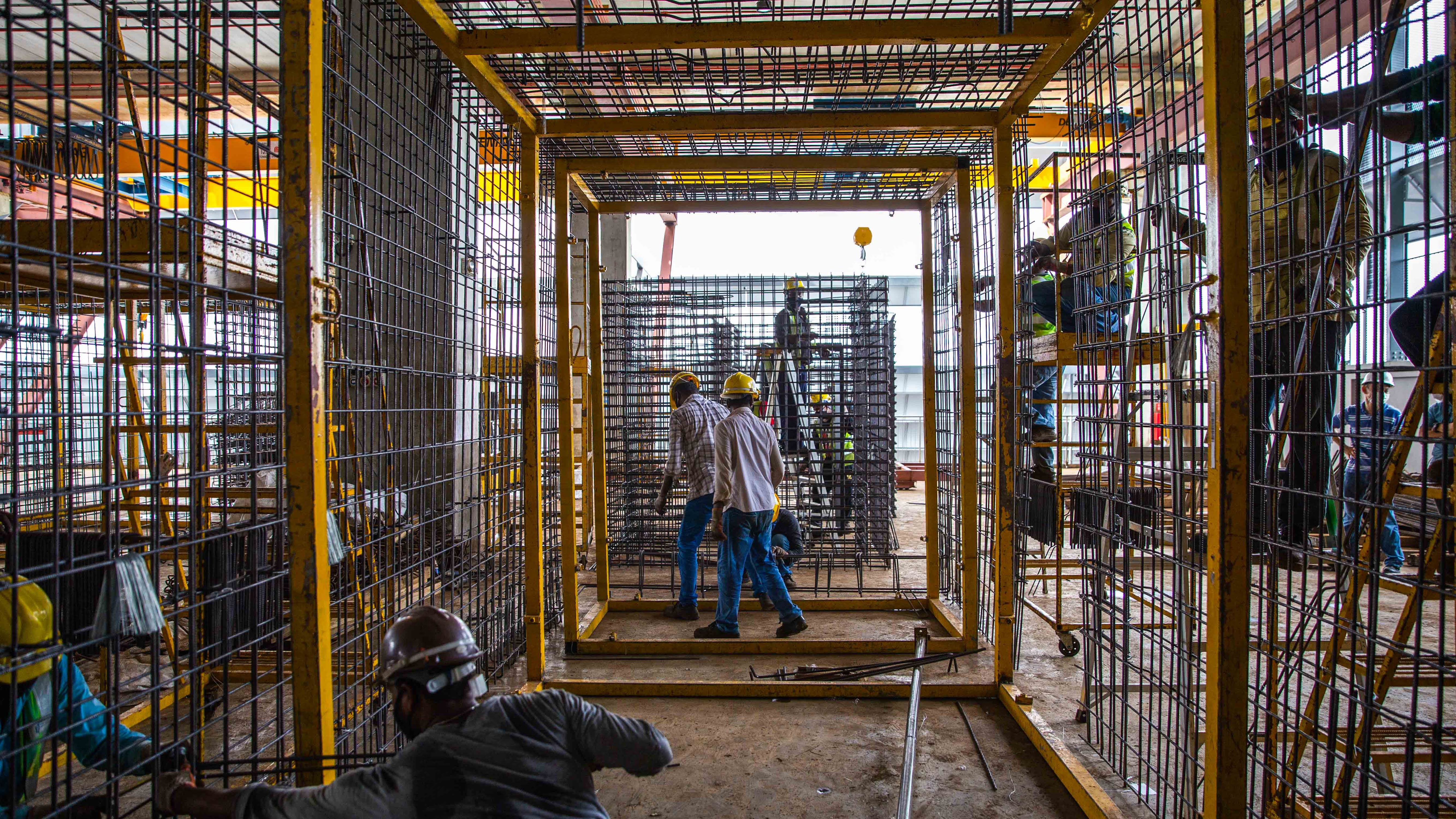 04 Assembly of rebar cages 5