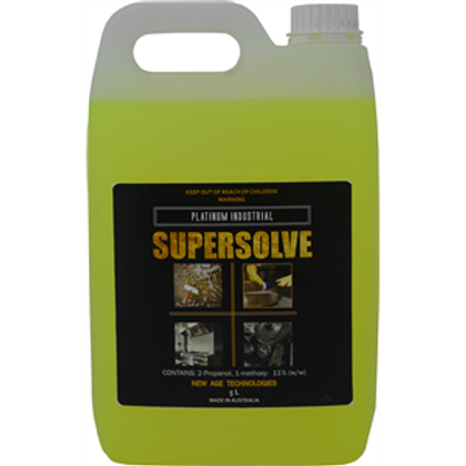 Supersolve 5Ltr - Bio Degradable Heavy Duty, Hard Surface Cleaner